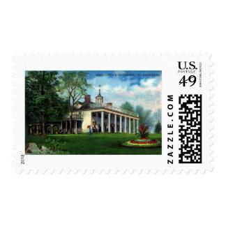 La granja el Monte Vernon, VA de Washington Sellos Postales