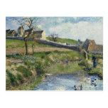 La granja en Osny, 1883 Postales