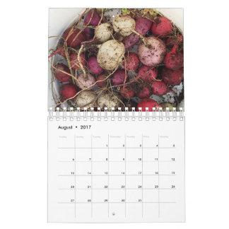 La granja encanta el calendario