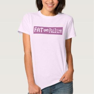 La grasa no iguala el fracaso - camiseta #6 remera