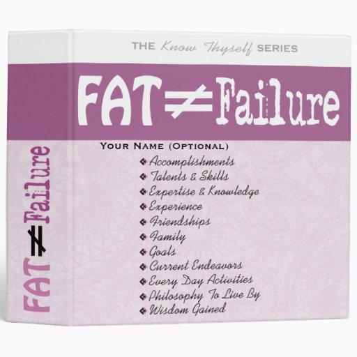 La grasa no iguala el fracaso - carpeta #1