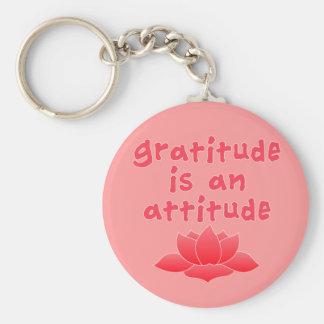 La gratitud es una actitud con Lotus Llaveros