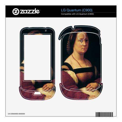 la gravida by Raffaello Sanzio da Urbino Decal For LG Quantum