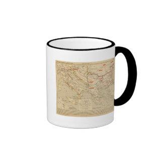 La Grece et l'Italie, 306 a 410, ap JC Ringer Mug