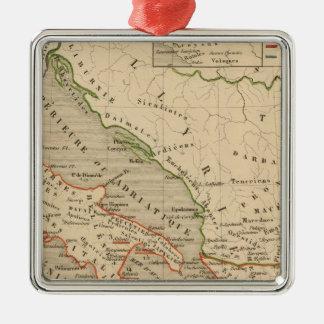La Grece, l'Italie, 1190 504 sistemas de pesos Adorno Navideño Cuadrado De Metal