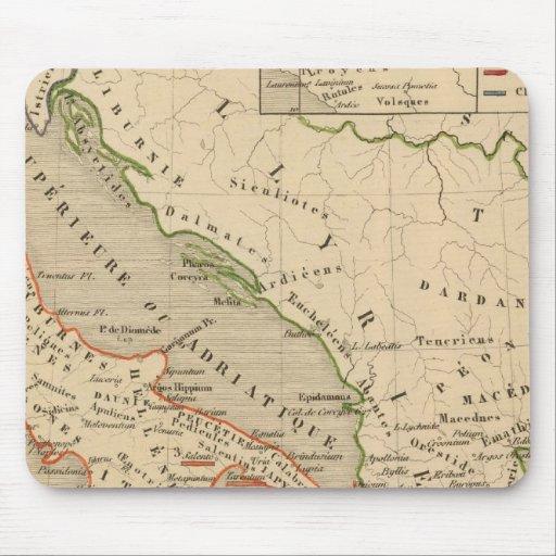 La Grece, l'Italie, 1190 504 sistemas de pesos ame Tapete De Raton