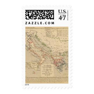 La Grece, l'Italie, 1190 504 sistemas de pesos Estampillas