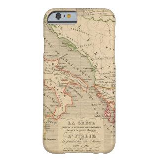 La Grece, l'Italie, 1190 504 sistemas de pesos Funda Barely There iPhone 6