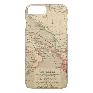 La Grece, l'Italie, 1190 504 sistemas de pesos Funda iPhone 7 Plus