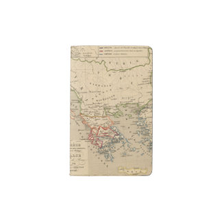 La Grece, l'Italie, 1190 504 sistemas de pesos Funda Para Libreta Y Libreta Pequeña Moleskine