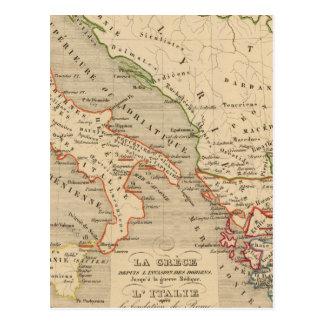 La Grece, l'Italie, 1190 504 sistemas de pesos Postales
