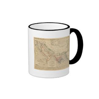 La Grece, l'Italie, 1190 a 504 av JC Ringer Mug