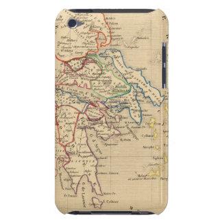 La Grece y partie de l'Asie Mineure, sistema de pe iPod Touch Case-Mate Cárcasa