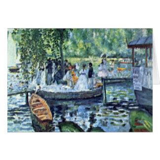 La Grenouillere1 de Pedro Renoir Tarjetón