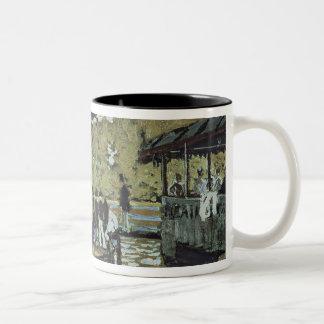 La Grenouillere 1869 oil on canvas Coffee Mugs