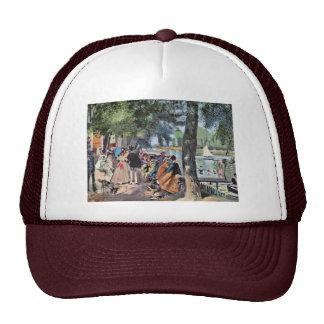 La Grenouillère By Pierre-Auguste Renoir Trucker Hat