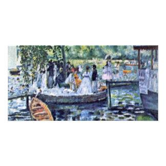 La Grenouillere By Pierre-Auguste Renoir Personalized Photo Card