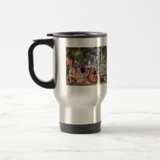 La Grenouillere by Pierre Renoir Coffee Mug