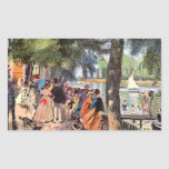 La Grenouillere de Pedro Renoir Etiqueta