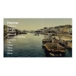 La Greve, Nantes, France vintage Photochrom Business Card Templates