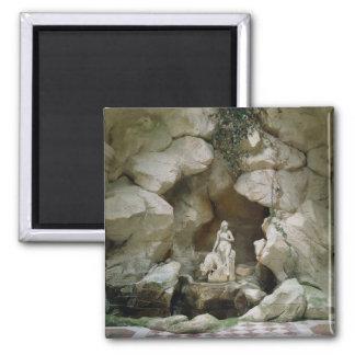 La gruta del Laiterie de la Reine Imán Cuadrado