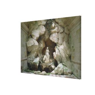La gruta del Laiterie de la Reine Impresiones En Lona Estiradas