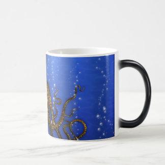 La guarida de los pulpos - colorida tazas de café