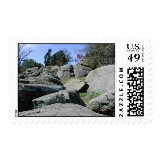 La guarida del diablo - franqueo #1 timbres postales