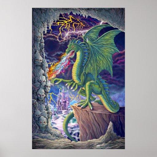 La guarida del dragón póster