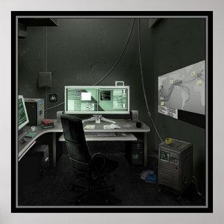 La guarida del pirata informático posters