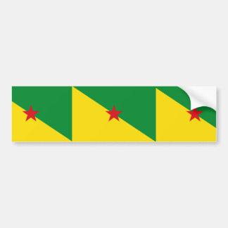 la Guayana Francesa Pegatina Para Auto