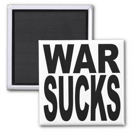 La guerra chupa iman