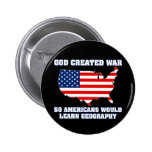 La guerra creada dios así que los americanos apren pin