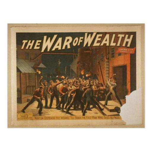 La guerra de la riqueza postal
