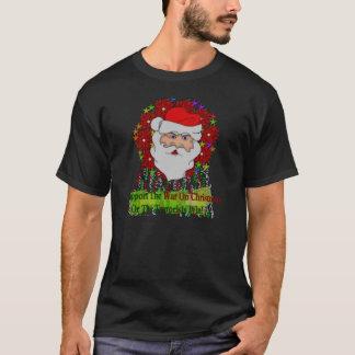 La guerra de Santa en Navidad Playera