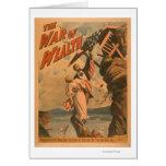 La guerra del poster de teatro de la riqueza tarjetas