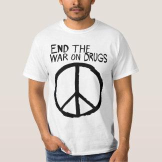 La guerra en las drogas ha fallado playera