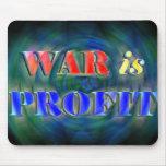La guerra es beneficio tapete de raton