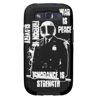 La guerra es caja de la galaxia S de Samsung de la Galaxy SIII Carcasa