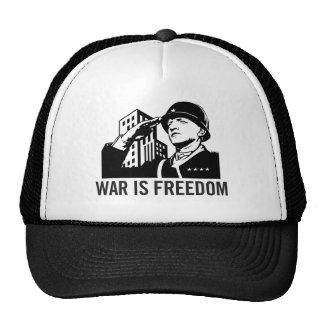 La guerra es gorra de la libertad
