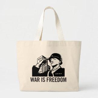 La guerra es la bolsa de asas de la libertad
