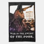 La guerra es la muestra enemiga del ~ de los tiemp toallas