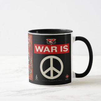 La guerra es taza de la paz