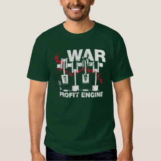 La guerra es un motor del beneficio polera