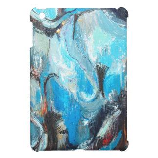 La guerra espiritual (expresionismo abstracto) iPad mini fundas