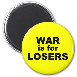La guerra está para los perdedores iman de frigorífico