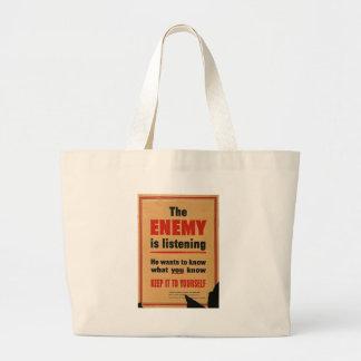 La guerra mundial enemiga 2 bolsas