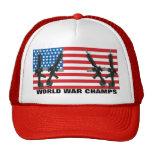 La guerra mundial indiscutible defiende el gorra