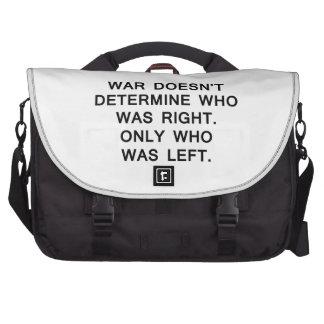 la guerra no determina quién correcto se fue solam bolsas de portatil
