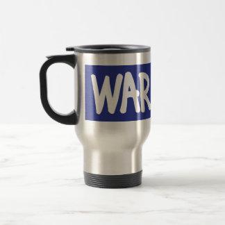 La guerra no es la respuesta taza térmica